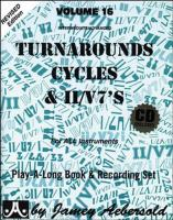 Turnarounds cycles & II/V7's : for all instruments | Jamey Aebersold