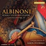 "Hommage to a spanish grandee selection from ""Concerti a cinque"", op.10 Tomaso Albinoni, comp. Collegium Musicum 90, ens. instr. Simon Standage, dir."