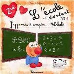 L'école en chantant , vol. 1 : alphabet et mathématiques, avec tables de multiplication [disque compact] / Frédérique Zoltane, Patrick Jaymes ; musique Paul Glaeser