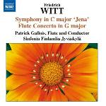 "Symphony, ""Jena"", ut majeur ; Symphony, la majeur ; Flute concerto, op. 8, sol majeur"