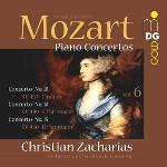 Piano concertos. vol 6 / Wolfgang Amadeus Mozart | Mozart, Wolfgang Amadeus (1756-1791)