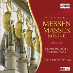 Messes n° 1 - 6 = Messen Deutsche Messe... [etc.] complete recording Schubert, comp. Celina Lindsley, S Werner Hollweg, T... [et al.] Marcus Creed, dir.