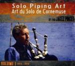 Art du solo de cornemuse Volume1 : 1976-1979