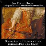 Les surprises de l'amour, transcriptions de Monsieur Hesse Jean-Philippe Rameau, comp. Ensemble A deux violes égales, duo instr. Monique Zanetti, soprano Stephan MacLeod, baryton