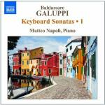 Keyboard sonatas 1 Baldassare Galuppi, comp. Matteo Napoli, piano