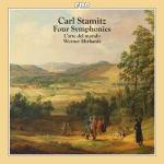 Four symphonies Carl Stamitz, comp. L'Arte del mondo, ens. instr.; Werner Ehrhardt, dir.