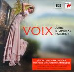Les voix airs d'opéras italiens Giacomo Puccini, Alfredo Catalani, Francesca Cilea... [et al.], comp. Renata Scotto, Montserrat Caballé, S Gianandrea Gavazzeni, dir... [et al.]