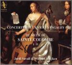 Concerts à deux violes esgales   Agustin de Sainte-Colombe