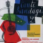 Canti randagi 2 Fabrizio de Andrè, auteur adapté Mario Incudine, chant Riccardo Tesi, accordéon, chant Graziano Accinni, guitare. ... [et al.]