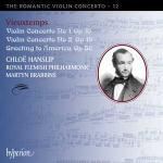 Violin concerto n°1, op. 10 Violin concerto n° 2, op 19 Greeting to America, Op 56 Henry Vieuxtemps, comp. Chloë Hanslip, violon Royal Flemish philharmonic Martyn Brabbins, dir.