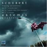String quartets Schubert, comp. Artemis quartet, quatuor à cordes