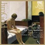 La voix humaine La dame de Monte-Carlo Francis Poulenc, comp. Felicity Lott, S Orchestre de la Suisse romande Armin Jordan, dir.