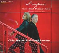 Enfance (L' ) : oeuvres pour piano à quatre mains   Désert, Claire (1967-....). Interprète
