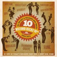 Record kicks 10th : all the hits and exclussive new tracks, 2003-2013 | Williams, Hannah. Chanteur