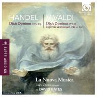 Dixit Dominus HWV 232 Handel, comp Dixit Dominus RV 807 In furore iutissimae irae RV 626 Vivaldi, comp. Lucy Crowe, S la Nuova musica, ens. instr. David Bates, dir.