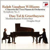 Concerto for to pianos and orchestra = Concerto pour deux pianos et orchestref / Ralph Vaughan Williams
