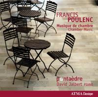 Musique de chambre Francis Poulenc, comp. Pentaedre, ens. instr. David Jalbert, piano