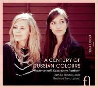 A century of russian colours Sergei Rachmaninov, comp. Camille Thomas, violoncelle Béatrice Berrut, piano