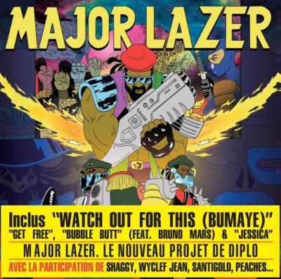 Free the universe / Major Lazer, ens. instr. |