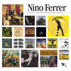 L' intégrale des enregistrements studio & live | Ferrer, Nino (1934-1998). Compositeur. Chanteur. Piano. Percussion - non spécifié. Guitare