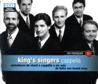 Cappella splendeurs du chant a capella à six voix de Tallis aux Beach boys King's singers, ens. voc.