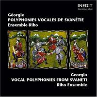 Polyphonies vocales de Svanétie
