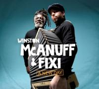 A new day Winston McAnuff, chant, comp. Fixi, accordéon, claviers, basse, programmations