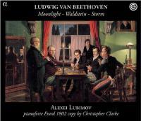 Moonlight Waldstein Storm Ludwig van Beethoven, comp. Alexei Lubimov, pianoforte