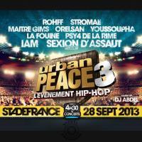 Urban peace 3 : l'évènement hip-hop