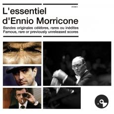 L'Essentiel d'Ennio Morricone : Bandes originales célèbres, rares ou inédites / Ennio Morricone, mus. | Morricone, Ennio (1928-....). Compositeur