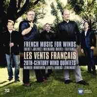 """Afficher """"Musique française pour vents et quintettes à vent de 20ème siècle"""""""