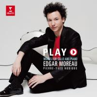 Play works for cello and piano Monti, Elgar, Paganini... [et al.], comp. Edgar Moreau, violoncelle Pierre-Yves Hodique, piano