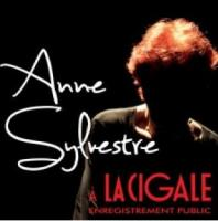 A la Cigale enregistrement en public Anne Sylvestre, chant
