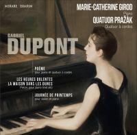 vignette de 'Poème pour piano et quatuor à cordes (Gabriel Dupont)'