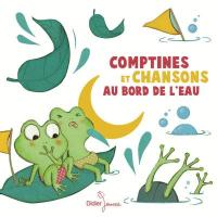 Comptines et chansons au bord de l'eau [disque compact] / Natalie Tual, Yann-Guirec Le Bars, Jean-Marie Bolangassa, Gibus...[et al.]