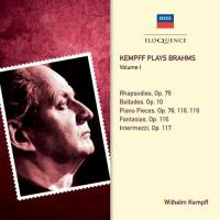 Kempff plays Brahms