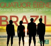 Brazil Quatuor Ebène, ens. instr. Bernard Lavilliers, Stacey Kent, Marcos Valle, chant