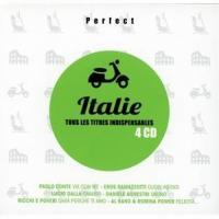 Perfect Italie tous les titres indispensables, coffret 4 CD Paolo, Conte, Eros Ramazzotti, Lucio Dalla, Daniele Silvestri... [et al.], chant