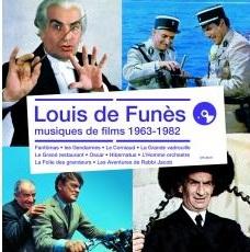 Louis de Funès musiques de films, 1963-1982 Jean-Michel Defaye, Jean Marion, Michel Colombier et al., comp. Louis de Funès, chant Nicolas Errèra, Rubin Steiner, arr. Jacques Besnard, Georges Lautner, Marcel Bluwal et al., réal.