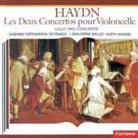 Les deux concertos pour violoncelle Joseph Haydn, comp. Aleth Lamasse, violoncelle Ensemble instrumental de France Jean-Pierre Wallez, dir.
