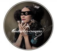 Méli-mélo Amélie-les-Crayons, chant, piano, guitare, texte, comp.