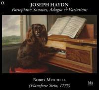 Fortepiano sonatas, adagio & variations Joseph Haydn, comp. Bobby Mitchell, pianoforte (Stein, 1799)