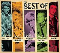 The best of : Johnny Hallyday, Dick Rivers, Eddy Mitchell, Richard Anthony, Sylvie Vartan | Hallyday, Johnny (1943-2017) - pseud.