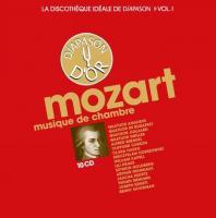 Musique de chambre. CD 1 à 4. [sonates et trios] / Wolfgang Amadeus Mozart | Mozart, Wolfgang Amadeus (1756-1791)