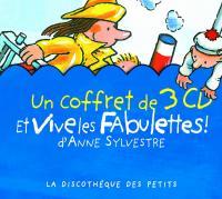 Et vive les Fabulettes ! : Un coffret de 3 CD
