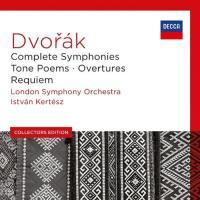 Complete symphonies, tone poems, overtures, Requiem