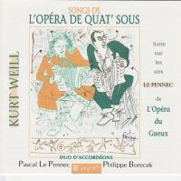 """Afficher """"Songs de l'Opéra de Quat'Sous"""""""
