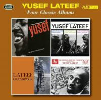 Four classic albums The sound of Lateef, The three faces of Lateef... Yusef Lateef, saxo ténor, flûte, hautbois