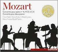 Concertos pour piano - Haskil, Anda, Philharmonia Orchestra, Galliera