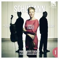 Violin concerto Piano trio Robert Schumann, comp. Isabelle Faust, violon Freiburger Barockorchester, orchestre Pablo Heras-Casado, direction